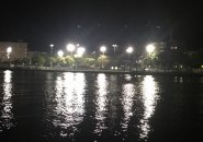 Bright lights at Puopolo Park