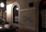 Graffiti calling for class warfare