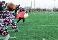 Race is on for Easter eggs in West Roxbury