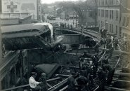 Elevated crash in old Boston