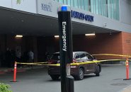 SUV used to drive victim to Boston Medical Center