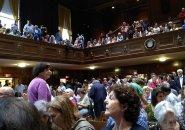 Large crowd in Arlington