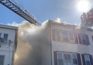Fire on Hyde Park Avenue