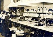 Labwork in old Boston