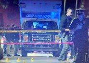 Michigan Avenue crime scene