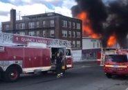 Fire in Quincy