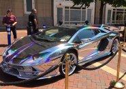 Shiny car at Boston Harbor Hotel