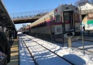 Train stuck at Readville