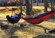 In hammocks