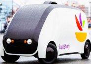 Stop & Shop robot delivery car