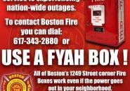 Boston fire boxes always work