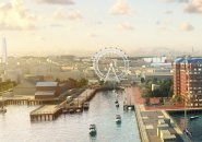 Proposed Ferris wheel at the Charlestown Navy Yard