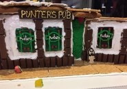 Cake in honor of Punter's Pub