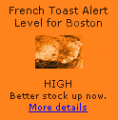 French Toast Alert is at 4 Slices