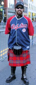 The Scottish contingent