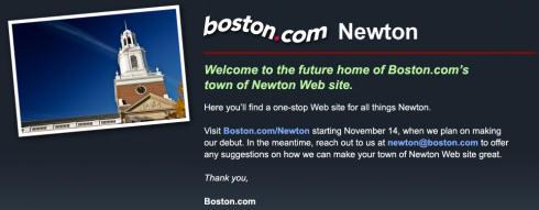 Hey! Newton's a city!