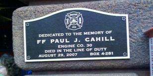 Cahill memorial