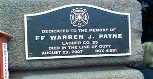Payne memorial