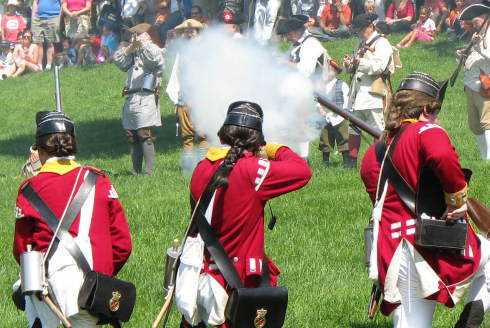 Redcoats retake the Common | Universal Hub