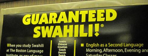 Guaranteed Swahili