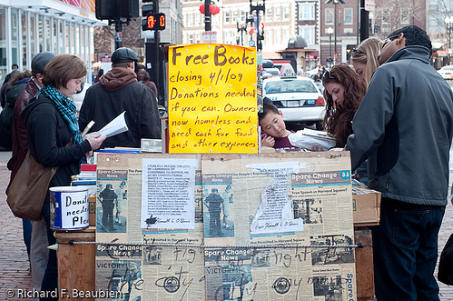 Another book seller leaves Harvard Square