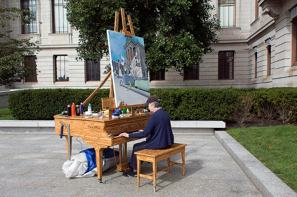 MFA Street Piano
