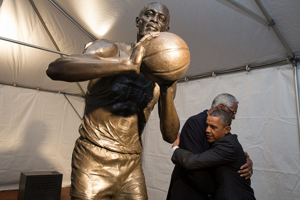 Russell and Obama
