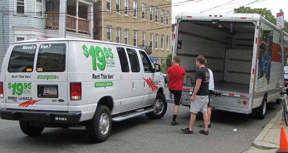 Van vs. truck