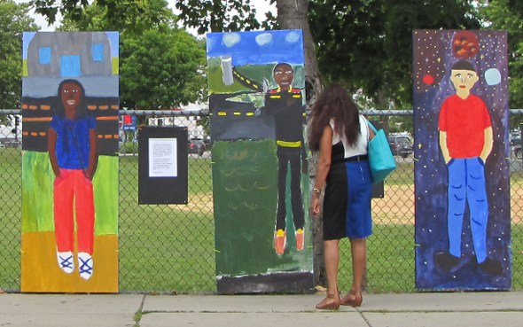 Art on Dorchester Avenue in Fields Corner