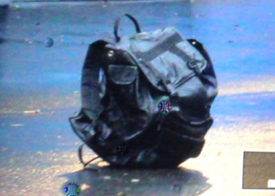 Backpack closeup
