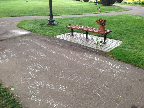 Good Will Hunting bench now a memorial to Robin Williams