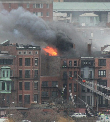Firefighters Trapped By Fire In Back Bay Basement