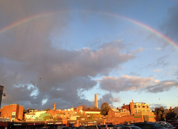 Charlestown rainbow