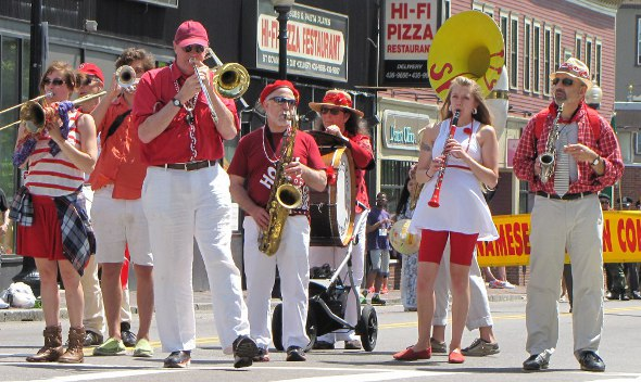Dorchester Day horns