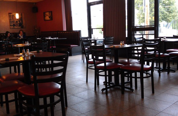 Interior of Fairouz in West Roxbury