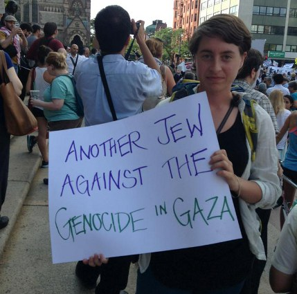 Protest: Another Jew