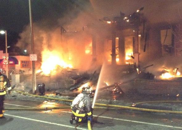 Roxbury fire