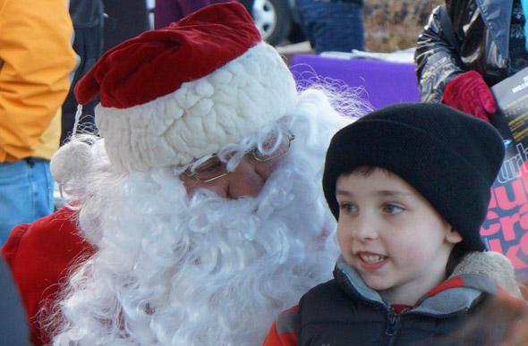Santa in Roslindale