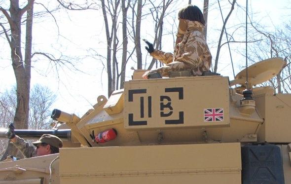 British tank