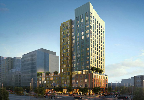 Proposed residential building on Boylston</body></html>