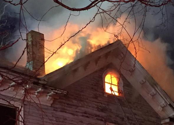 Babson Street fire