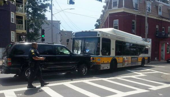 Bus vs. SUV