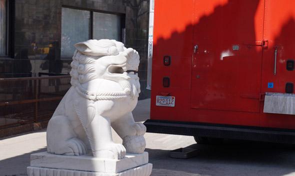 Chinatown lion