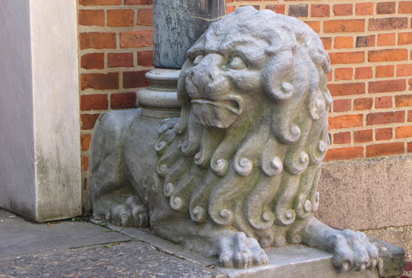Old North Church lion