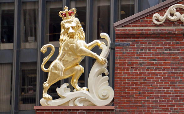Old State House lion