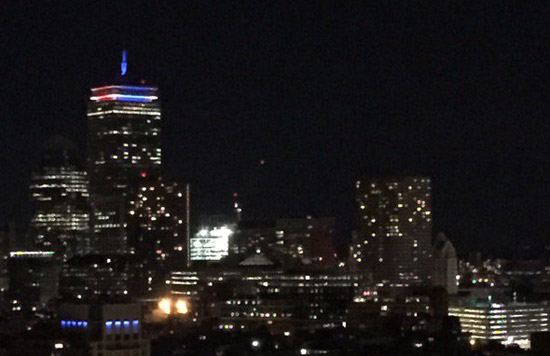 Pru in French colors