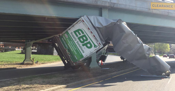 Storrow truck crash