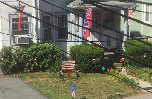 Confederat flag in Arlington