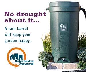 No drought about it: Get a rain barrel from Boston Building Resources