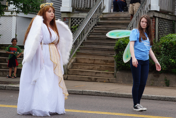 Angels in Dorchester Day parade